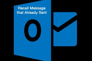 Recall message that already sent